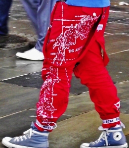 la Norvegia sui pantaloni Ross