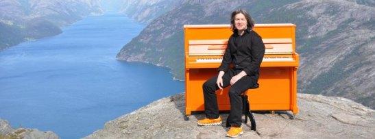 Orange Piano Tour/ Norwegen
