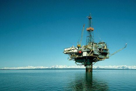 Foto di una piattaforma tratta dal sito http://www.alaska-in-pictures.com/